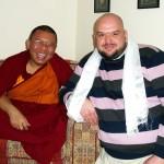 Robert & Ahbey Rinpoche