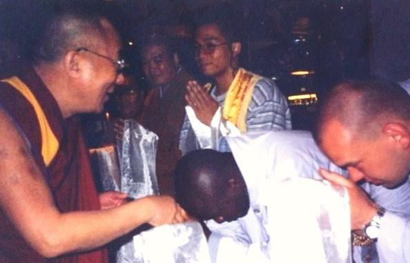 Dalai Lama and Robert